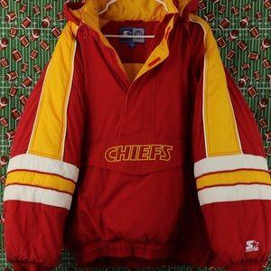 Kansas City Chiefs Starter Puffer Coat